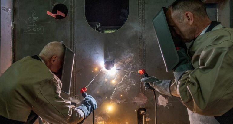 Damen Shipyards Galati lays keel of Royal Netherlands Navy's Combat Support Ship