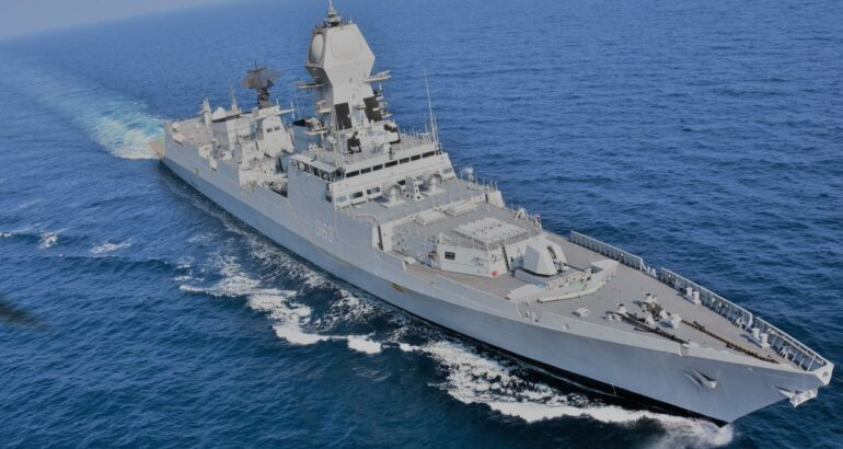 Indian Navy To Participate In An Exercice With US Navy Carrier Strike Group