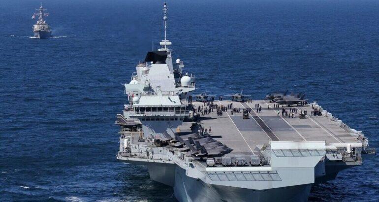 U.S. Navy Destroyer Assumes Air Defense Duties as Part of Carrier Strike Group 21