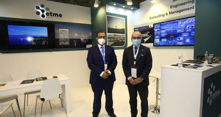Antonios Peppas CEO ETME & Alain Guillou Naval Group