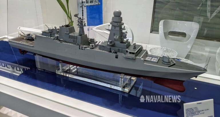 DEFEA 2021 Fincantieri Offering FREMM for Hellenic Navy Frigate Requirement