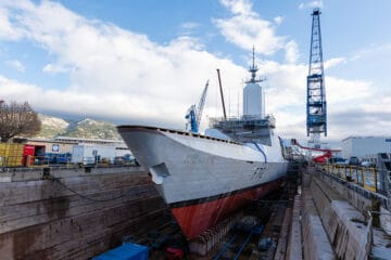 Video: French Navy's La Fayette-class Frigate Mid-Life Update