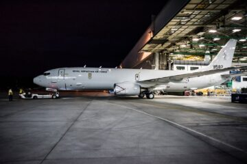 Norway's First P-8A Poseidon Maritime Patrol Aircraft Flies For The First Time
