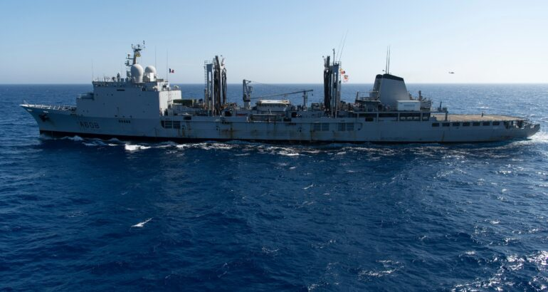 French Navy Decomissions Her Second Replenishment Vessel, The 'Var'