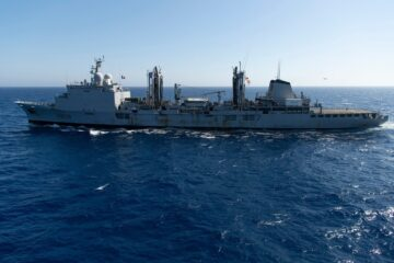 French Navy Decommissions Second Durance-Class Replenishment Vessel