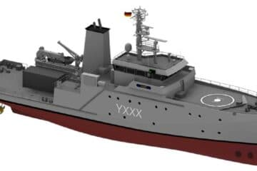 German Navy Renews Her Experimentation and Support Vessels