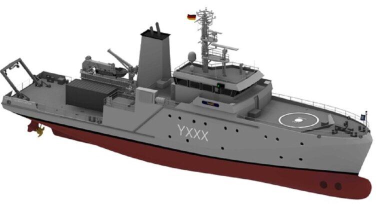 Deutsche Marine Renews Her Experimentation and Support Vessels