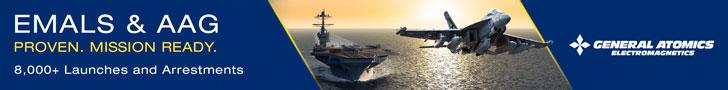 GA-EMS EMALS AAG Sea Air Space 2021