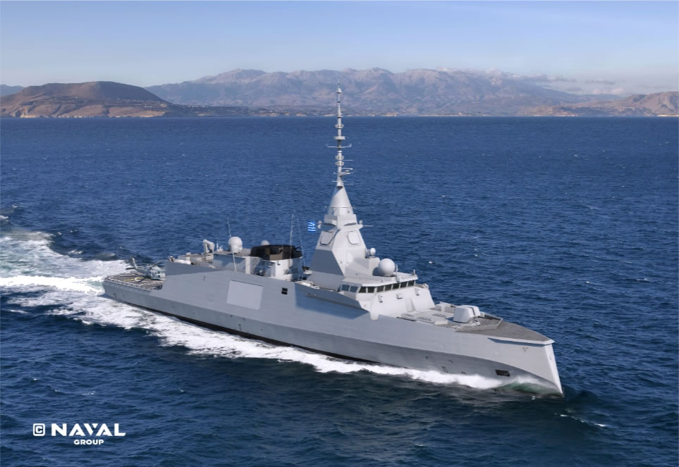 Greece FDI HN with STRALES Naval Group