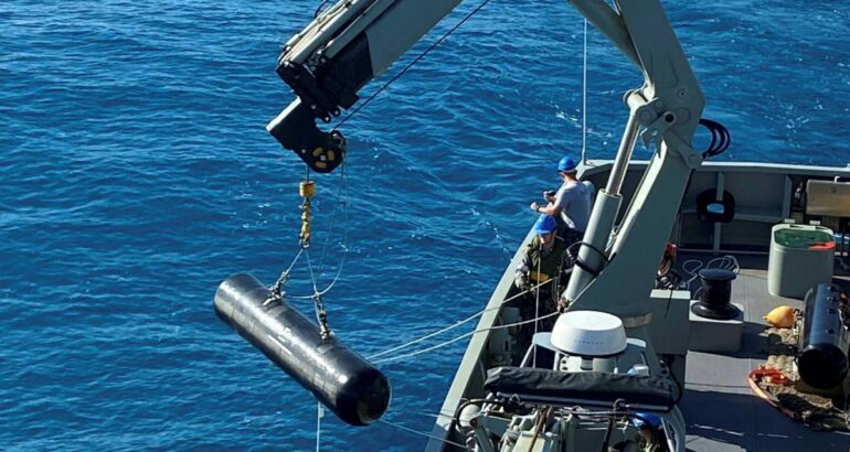 Royal Australian Navy Lays Inert Minefields As Part Of Exercise Talisman Sabre 21