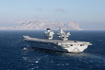 Royal Navy Declares Aircraft Carrier HMS Prince of Wales Operational