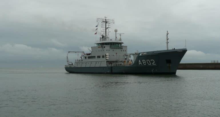Damen Completes Modernisation And Maintenance Of HNLMS 'Snellius'
