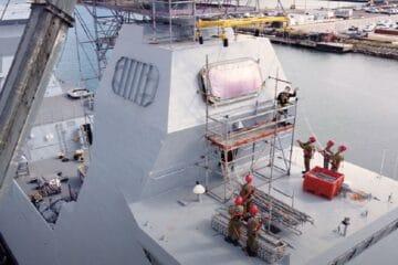 IAI Integrates Naval Combat Suite On Israeli Sa'ar 6 Corvettes