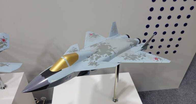 Russian Company Mig Unveils A New 5th Generation Carrier-Born Fighter Project