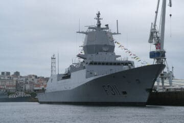Navantia Completed Tropicalization Of Norwegian Navy's 'Roald Amundsen' Frigate