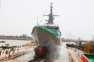 Navantia Launched Fourth Corvette For The Royal Saudi Navy
