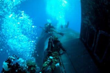 U.S. Navy Submarine Trains With SEALs In Mediterranean