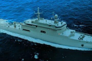 United Shipbuilding Corporation Unveils Its New Project Caiman Large Landing Ship