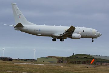 Boeing To Support RAF Poseidon Fleet For Next Five Years