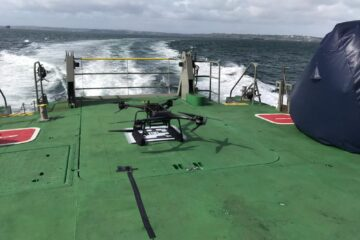 Royal Navy tests Drones In Man Overboard Trials
