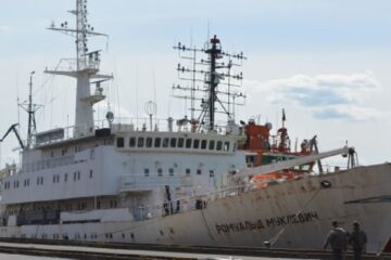 Russian Hydrographic Vessel To Conduct Survey In Arctic