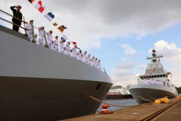 TKMS Hands Over Last Two SA'AR 6 Class Corvettes To The Israeli Navy