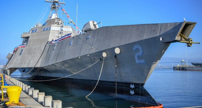 U.S. Navy Decommissions Littoral Combat Ship 'USS Independence'