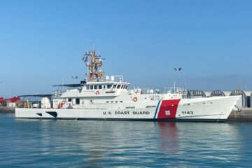 U.S. Coast Guard Commissions Three Fast Response Cutters In Guam