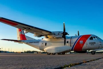 USCG Takes Delivery Of Its 10th Upgraded Medium Range Surveillance Aircraft