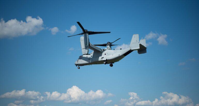 USMC MV-22B Osprey Test New Electronic Warfare Weapon System