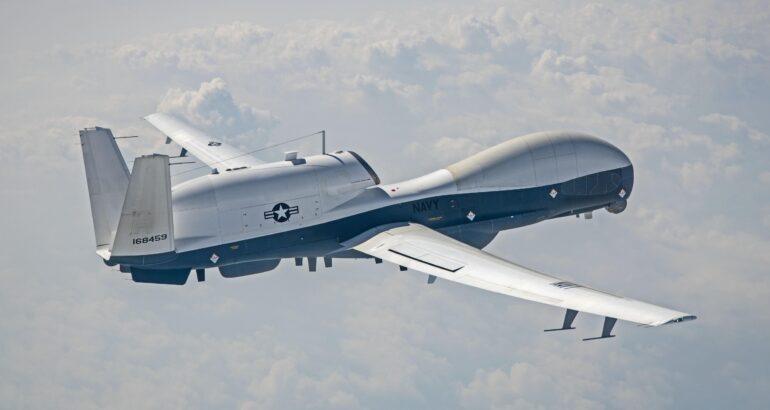 U.S. Navy Upgraded MQ-4C Triton Made First Test Flight