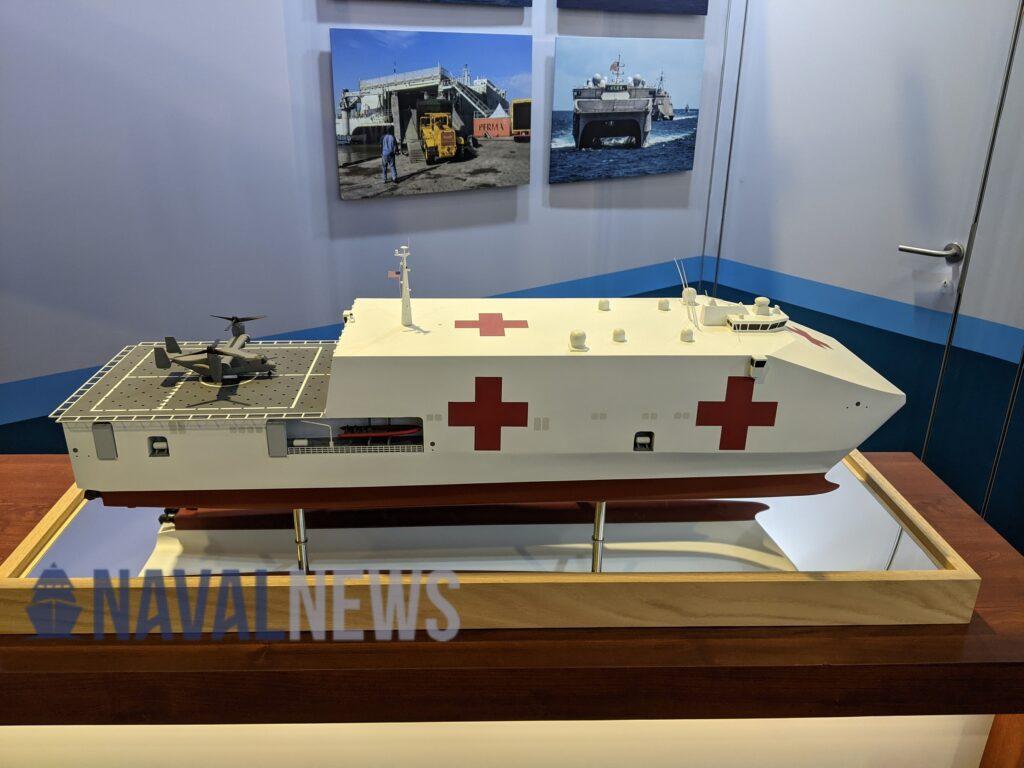 Austal USA Emergency Medical Ship (EMS)