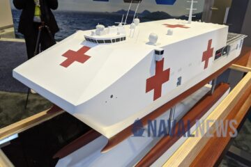 Sea Air Space 2021: Austal USA's New Expeditionary Medical Ship