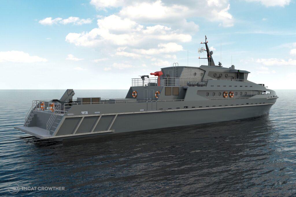 Australian Shipbuilder Incat Crowther Patrol Boat for Thailand