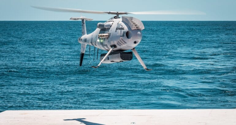 Schiebel CAMCOPTER S-100 Successfully Completes Flight Trials For U.S. Navy's ONR