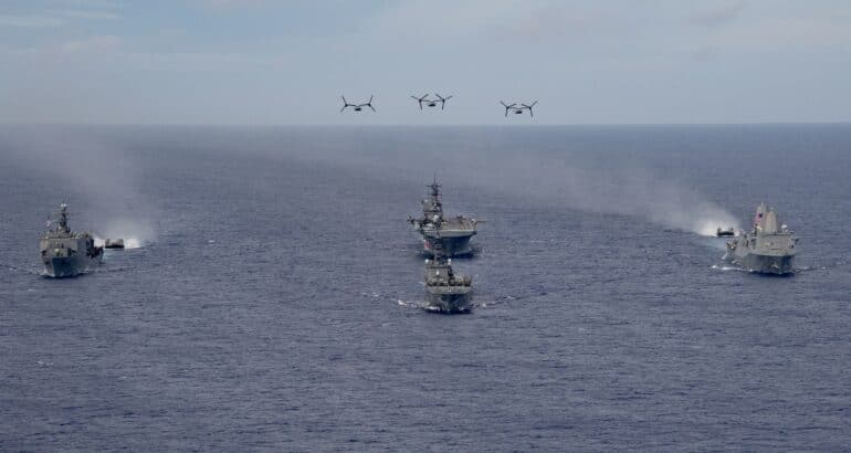 U.S. Navy Kicks Off Large-Scale Exercise 2021