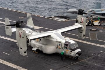 First Operational Deployment for US Navy's CMV-22B and F-35C