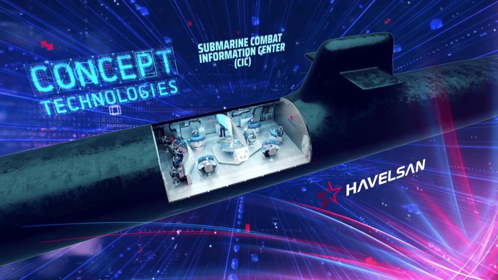 Submarine CIC Concept