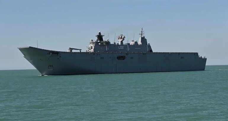 Australian Operation 'Indo Pacific Endeavour 21' Kicks Off