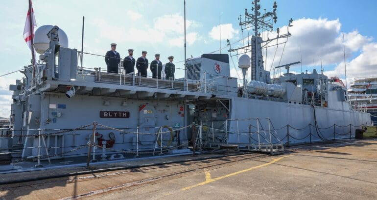 The Royal Navy Decommissioned Two Sandown-Class Minehunters