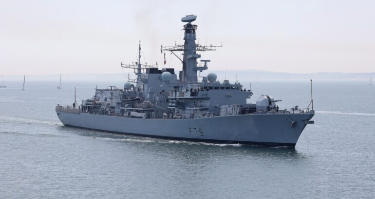 Royal Navy 'HMS Portland' Completed Sea Trials With Ultra's 2150 Hull-Mounted Sonar