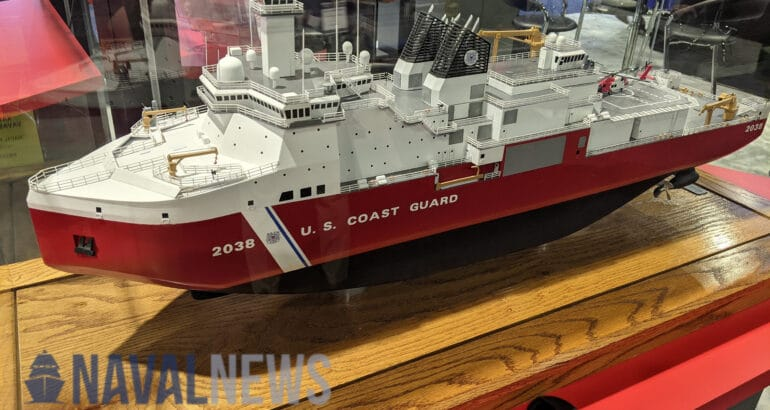 Sea Air Space 2021: VT Halter Marine Unveils Polar Security Cutter Design For USCG