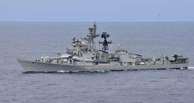 Indian Navy's Eastern Fleet Ships On Overseas Operational Deployment