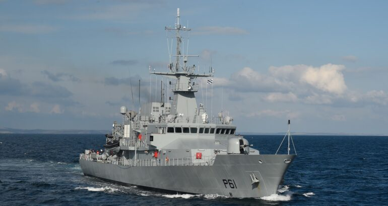 Babcock Awarded Contract To Support Irish Naval Service's OPVs