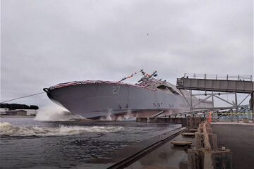 Freedom-class Littoral Combat Ship 27 Launched And Christened