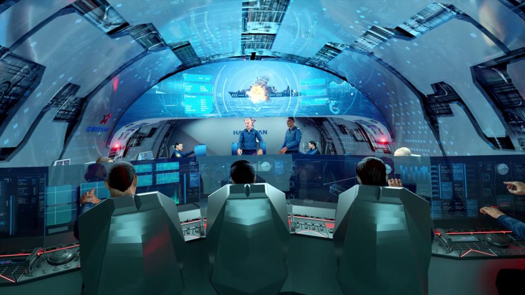 MILDEN Submarine HAVELSAN Combat Information Center of Future