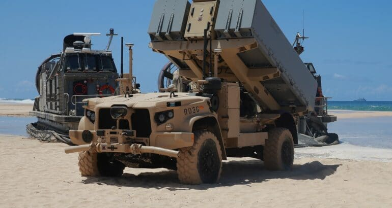 Marine Corps successfully demonstrates NMESIS during LSE 21