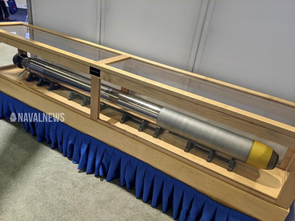 Northrop Grumman Showcases VLWT torpedo Sea Air Space 2021