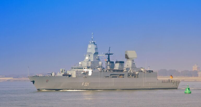 German Navy Upgrades Radar Systems On F124-Class Frigates