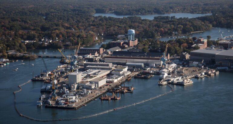 U.S. Navy Investing $1.7 Billion to Improve Portsmouth Naval Shipyard